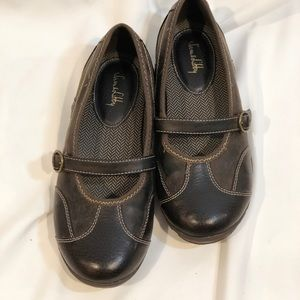 EUC Sam & Libby Brown Dress Shoes Size 4